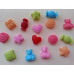 Mini jaboncitos para acompañar a nombres de jabón
